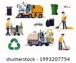 set of vector design elements... | Shutterstock .eps vector #1993207754