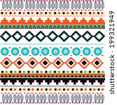 Seamless Pattern With American...