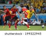 Постер, плакат: Neymar of Brazil is