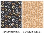 abstract geometric seamless... | Shutterstock .eps vector #1993254311