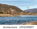 The Helicopter Load Water From...