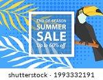 summer sale banner template ... | Shutterstock .eps vector #1993332191