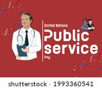 united nations public service... | Shutterstock .eps vector #1993360541