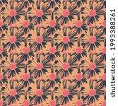 abstract flower geometric... | Shutterstock .eps vector #1993388261