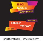 flyer  template  number plate ... | Shutterstock .eps vector #1993526294