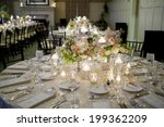 elegant table setting for... | Shutterstock . vector #199362209