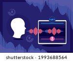voice recognition  speech... | Shutterstock .eps vector #1993688564
