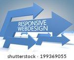 responsive webdesign 3d render...