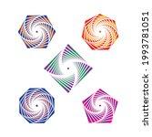gradient lines ornament design. ...   Shutterstock .eps vector #1993781051