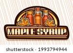 vector logo for maple syrup ... | Shutterstock .eps vector #1993794944