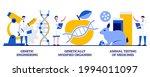 genetic engineering ... | Shutterstock .eps vector #1994011097