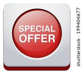 special offer icon  | Shutterstock . vector #199404677