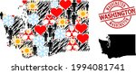 distress washington stamp seal  ...   Shutterstock .eps vector #1994081741