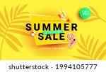 summer sale banner for seasonal ... | Shutterstock .eps vector #1994105777