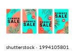 summer sale banner stories... | Shutterstock .eps vector #1994105801