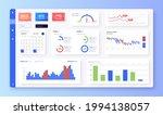 dashboard ui. statistic graphs  ...
