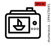 illustration of camera digital... | Shutterstock .eps vector #1994170691