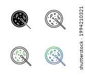 bacteria icon set  eps 10 | Shutterstock .eps vector #1994210321