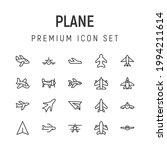 premium pack of plane line...