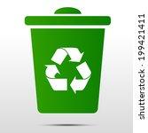 recycle bin | Shutterstock .eps vector #199421411