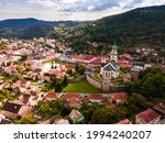Historical Town Square In...