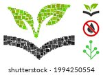 mosaic flora knowledge icon... | Shutterstock .eps vector #1994250554