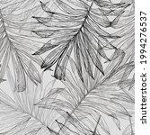 lush tropics foliage background....   Shutterstock .eps vector #1994276537