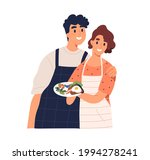 couple of happy man and woman... | Shutterstock .eps vector #1994278241