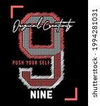 9 nine original creativity push ... | Shutterstock .eps vector #1994281031