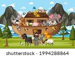 Noah's Ark With Wild Animals In ...