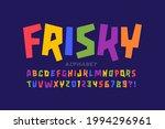 Colorful Childish Frisky...