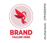bird logo template vector...   Shutterstock .eps vector #1994300954