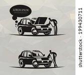 car. vector format | Shutterstock .eps vector #199430711