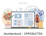 florist online service or... | Shutterstock .eps vector #1994361734