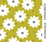 seamless vintage pattern... | Shutterstock .eps vector #1994418074