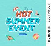 summer shopping event... | Shutterstock .eps vector #1994449034