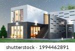 exterior of modern living... | Shutterstock . vector #1994462891