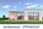 exterior of modern living... | Shutterstock . vector #1994463167