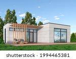 exterior of modern living... | Shutterstock . vector #1994465381