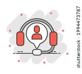 helpdesk icon in comic style....   Shutterstock .eps vector #1994473787