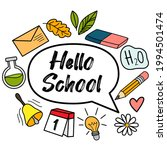 concept of education. school...   Shutterstock .eps vector #1994501474