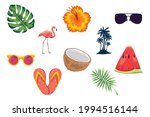 ten summer season set icons | Shutterstock .eps vector #1994516144