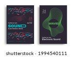 sound wave minimal poster...   Shutterstock .eps vector #1994540111