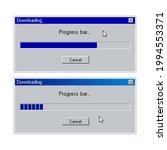 retro progress bar download...