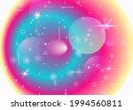 vibrant gradients on rainbow... | Shutterstock .eps vector #1994560811