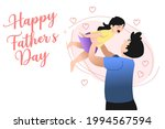 happy father's day minimal... | Shutterstock .eps vector #1994567594