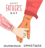 happy father's day. daughter's... | Shutterstock .eps vector #1994573654