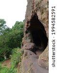 Cave In A Hidden Rockface