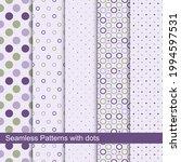 set of vector seamless patterns ...   Shutterstock .eps vector #1994597531