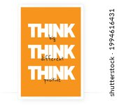 think big  think different ...   Shutterstock .eps vector #1994616431
